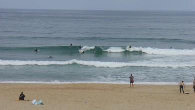Surf report FR, Seignosse - Les Casernes (40) du 2009-06-13 12:00:00