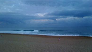Surf report FR, Anglet La Madrague (64) du 2009-07-06 12:00:00