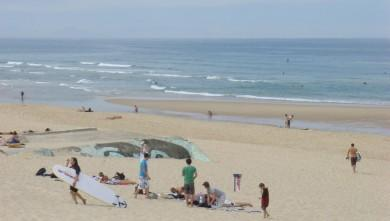 wave report FR, Seignosse - Les Casernes (40) du 2009-07-12 12:00:00