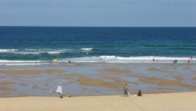 wave report FR, Seignosse - Les Casernes (40) du 2009-07-13 12:00:00