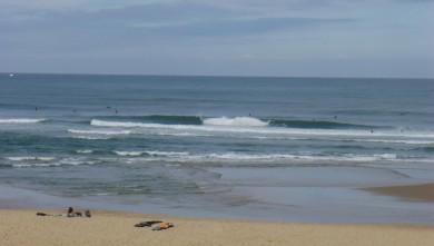 Surf report FR, Seignosse - Les Casernes (40) du 2009-08-03 10:00:00
