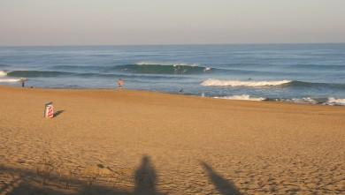 Surf report FR, Anglet La Madrague (64) du 2009-08-04 08:30:00