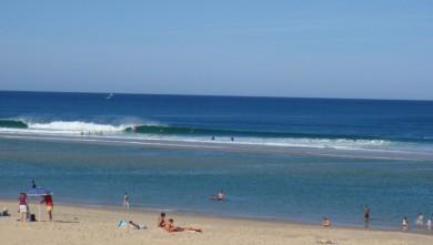 Surf report FR, Biscarrosse Plage (40) du 2009-08-04 10:15:00