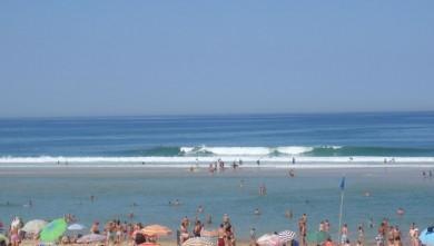 Surf report FR, Biscarrosse Plage (40) du 2009-08-05 11:45:00