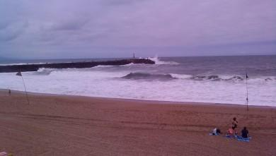 wave report FR, Anglet La Barre (64) du 2009-08-06 14:00:00