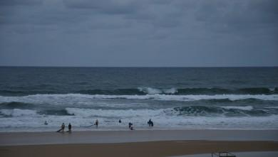 wave report FR, Seignosse - Les Casernes (40) du 2009-08-07 11:00:00
