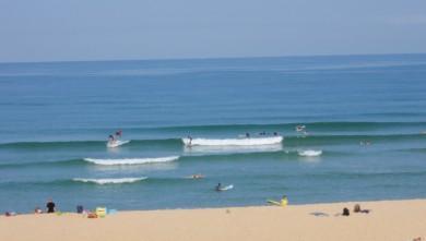 Surf report FR, Seignosse - Les Casernes (40) du 2009-08-11 10:30:00