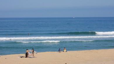 Surf report FR, Seignosse - Les Casernes (40) du 2009-08-12 10:00:00