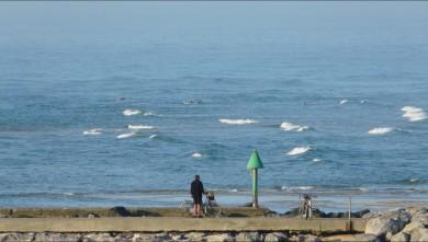 Surf report FR, Mimizan - Plage Garluche (40) du 2009-08-14 08:15:00