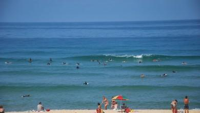 wave report FR, Seignosse - Les Casernes (40) du 2009-08-14 11:00:00