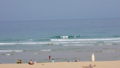 wave report FR, Seignosse - Les Casernes (40) du 2009-08-17 11:00:00