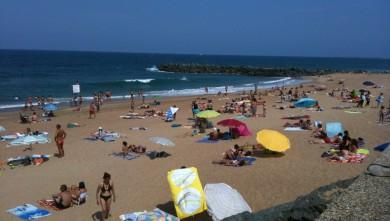 wave report FR, Anglet Surf Club (64) du 2009-08-18 13:02:00