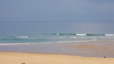 Surf report FR, Seignosse - Les Casernes (40) du 2009-08-20 09:30:00