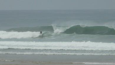 Surf report FR, Mimizan - Plage Garluche (40) du 2009-08-21 08:40:00