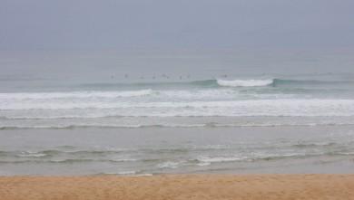Surf report FR, Seignosse - Les Casernes (40) du 2009-08-21 09:00:00