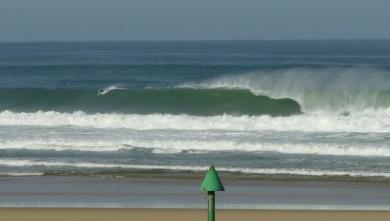 Surf report FR, Mimizan - Plage Garluche (40) du 2009-08-22 09:30:00