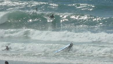 Surf report FR, Mimizan - Plage Garluche (40) du 2009-08-22 15:40:00
