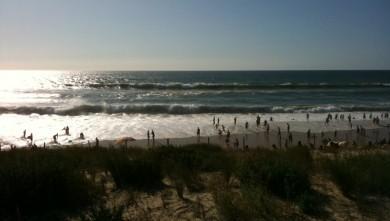 Surf report FR, Biscarrosse Plage (40) du 2009-08-22 18:12:00