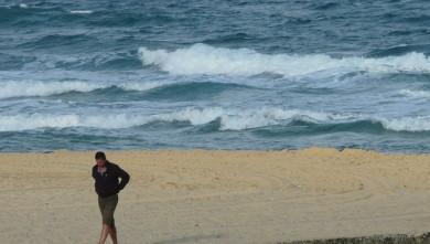 wave report FR, Mimizan - Plage Garluche (40) du 2009-08-24 08:50:00