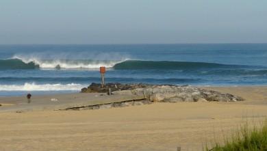 Surf report FR, Mimizan - Plage Garluche (40) du 2009-08-26 08:20:00