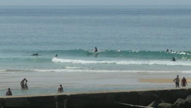 Surf report FR, Mimizan - Plage Garluche (40) du 2009-08-31 14:30:00