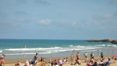 wave report FR, Biarritz - Grande Plage (64) du 2009-09-07 12:30:00