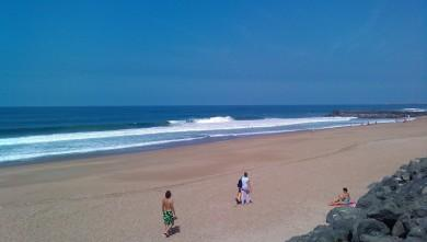 Surf report FR, Anglet Sables d'Or (64) du 2009-09-10 14:00:00