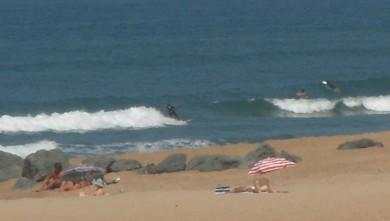 Surf report FR, Anglet La Madrague (64) du 2009-09-11 13:30:00