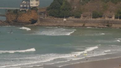 Surf report FR, Côte des Basques (64) du 2009-09-20 14:10:00