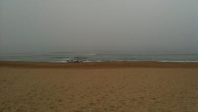 Surf report FR, Anglet La Madrague (64) du 2009-09-29 10:10:00