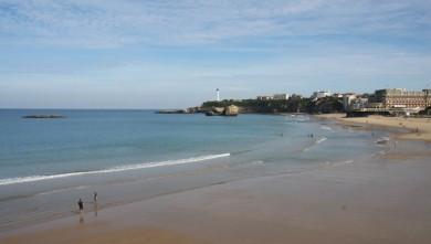 Surf report FR, Biarritz - Grande Plage (64) du 2009-10-04 12:30:00