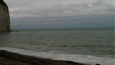Surf report FR, Yport (76) du 2009-10-08 13:16:00