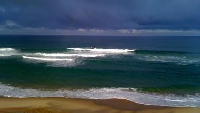wave report FR, Lacanau Océan - La Sud (33) du 2009-10-09 09:50:00