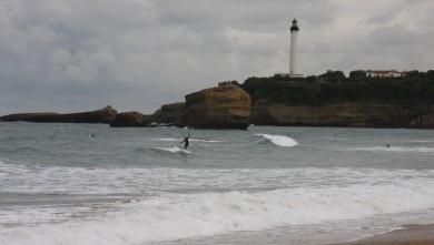 Surf report FR, Biarritz - Grande Plage (64) du 2009-10-09 10:45:00