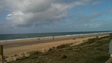 Surf report FR, Lacanau Océan - La Nord (33) du 2009-10-10 14:40:00