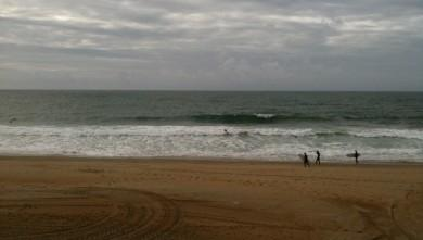 Surf report FR, Anglet Sables d'Or (64) du 2009-10-10 17:00:00