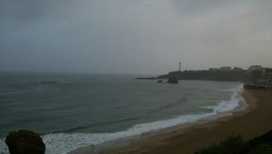 wave report FR, Biarritz - Grande Plage (64) du 2009-10-11 08:00:00