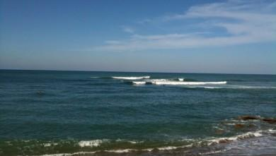 Surf report FR, Guethary Parlementia (64) du 2009-10-13 13:00:00