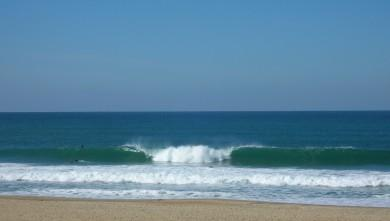 Surf report FR, Anglet Sables d'Or (64) du 2009-10-13 13:20:00