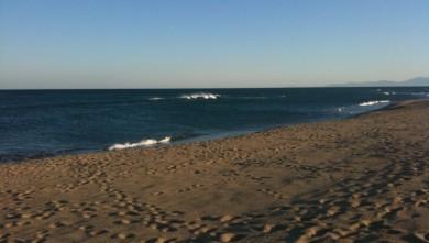 Surf report FR, Leucate - La Franqui (11) du 2009-10-18 18:43:00