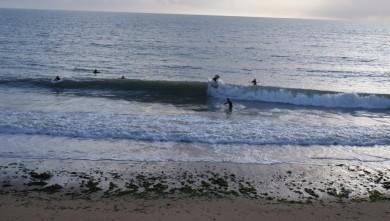 wave report FR, La Rochelle - Chef de Baie (17) du 2009-10-22 18:20:00