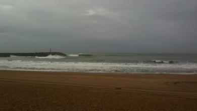 wave report FR, Anglet La Barre (64) du 2009-10-23 13:00:00