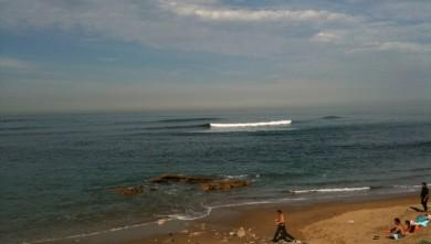 Surf report FR, Guethary Parlementia (64) du 2009-10-28 12:00:00