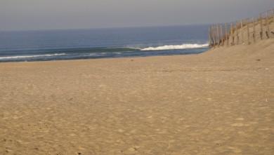 Surf report FR, Vieux Boucau (40) du 2009-10-30 09:00:00