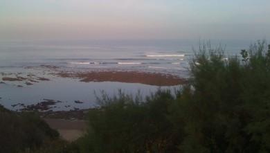 Surf report FR, Guethary Parlementia (64) du 2009-10-31 08:46:00