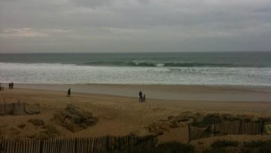 wave report FR, Lacanau Océan - La Nord (33) du 2009-11-01 13:37:00