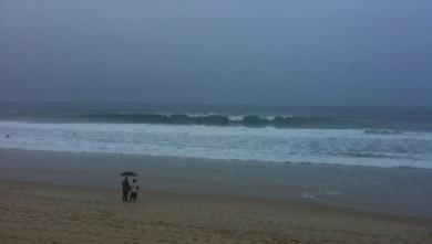 Surf report FR, Lacanau Océan - La Nord (33) du 2009-11-01 16:27:00