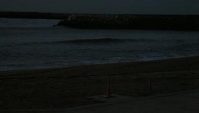 wave report FR, Anglet La Barre (64) du 2009-11-12 18:15:00