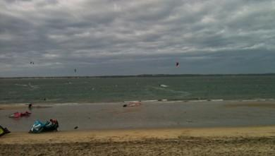 Surf report FR, Arcachon - Les Arbousiers (33) du 2009-11-22 13:30:00