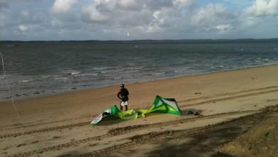 Surf report FR, Arcachon - Les Arbousiers (33) du 2009-12-03 14:12:00